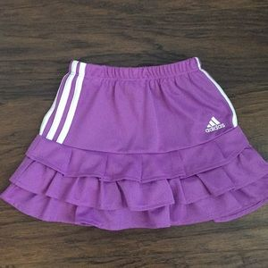 Girls Adidas Skirt With Built in Shorts